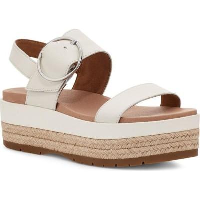 アグ UGG レディース エスパドリーユ サンダル・ミュール シューズ・靴 April Espadrille Platform Sandal Jasmine Leather