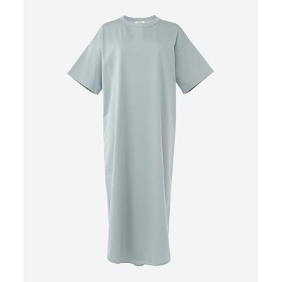 <THE RERACS(Women)/ザ・リラクス> HALF SLEEVE BASIC DRESS 73LIGHT BL【三越伊勢丹/公式】