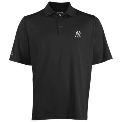 ニューヨーク・ヤンキース Antigua Desert Dry Xtra-Lite ポロシャツ - Charcoal