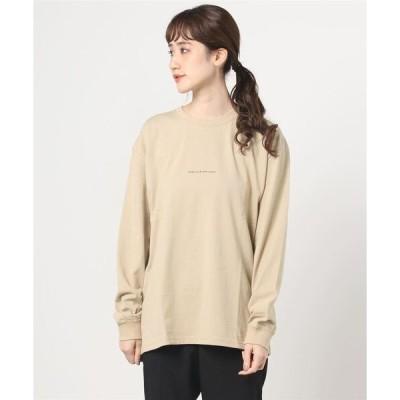 tシャツ Tシャツ 『POEMS』手書き風バックプリントロングスリーブ