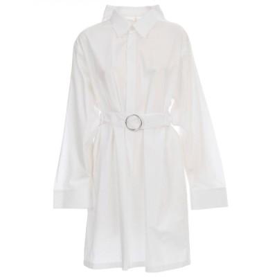 マルタンマルジェラ レディース ワンピース トップス Maison Margiela Belted Shirt Dress -