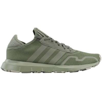 アディダス メンズ スニーカー シューズ Swift Run X Lace Up Sneakers