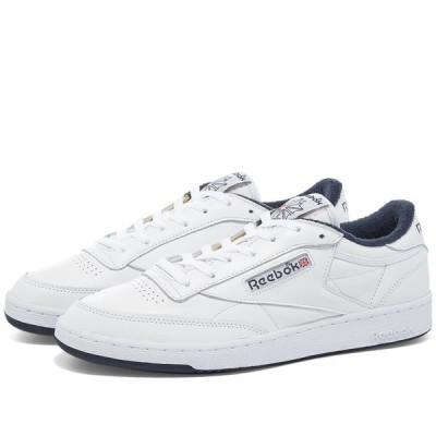 リーボック Reebok メンズ スニーカー シューズ・靴 Club C OG White/Blue