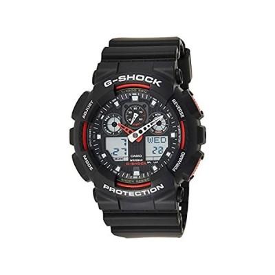 特別価格メンズ ブラック G-Shock アナログ デジタル 耐磁性 ハイライト好評販売中