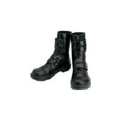 シモン 安全靴 マジック式 8538黒 24.5cm