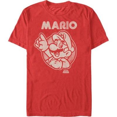 フィフス サン Fifth Sun メンズ Tシャツ トップス Nintendo Mario T-Shirt red