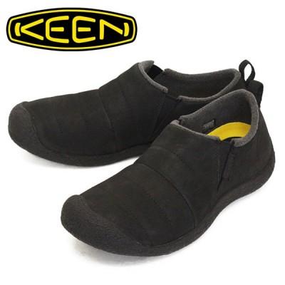 KEEN (キーン) 1023856 Men's HOWSER II LEATHER ハウザー ツー レザー シューズ BLACK KN523