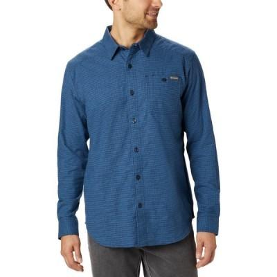 コロンビア シャツ トップス メンズ Columbia Sportswear Men's Cornell Woods Flannel Long Sleeve Shirt Blue Medium 02