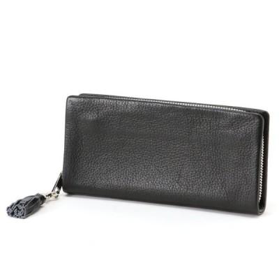 財布 レディース 長財布 人気シリーズ♪タッセル付長財布 カラー 「ブラック」