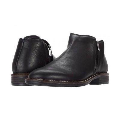 Naot ナオト メンズ 男性用 シューズ 靴 ブーツ チャッカブーツ General - Black Water Resistant Leather