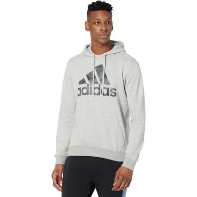 アディダス adidas メンズ パーカー トップス Camo Hoodie Medium Grey Heather