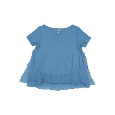 EUROPEAN CULTURE T シャツ ブルーグレー 12 コットン 80% / ラミー 20% T シャツ
