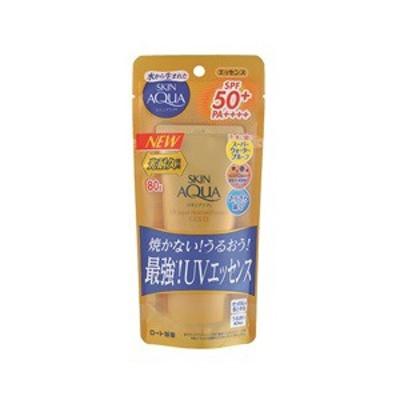 【ロート製薬】 スキンアクア スーパーモイスチャーエッセンスゴールド 80g SPF50+/PA++++ 【化粧品】