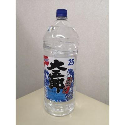 【現品限り】アサヒ 大五郎 25度 4L