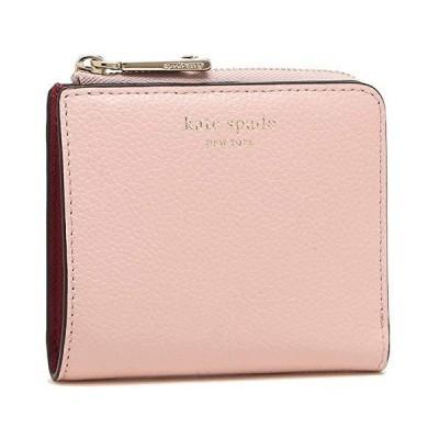 [ケイトスペード]折財布 アウトレット レディース KATE SPADE WLRU6253 953 ピンク