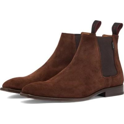ポールスミス Paul Smith メンズ ブーツ シューズ・靴 Suede Gerald Boot Brown