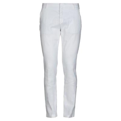 COROGLIO by ENTRE AMIS パンツ ホワイト 35 リネン 55% / コットン 43% / ポリウレタン 2% パンツ