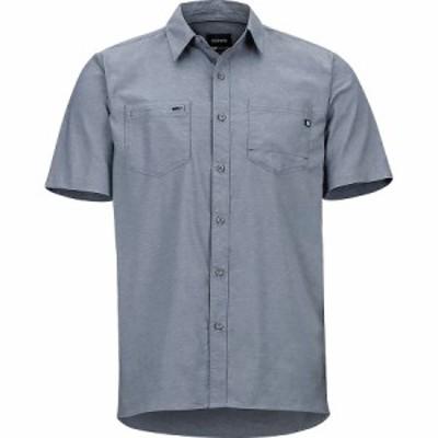 (取寄)マーモット イニスデール ショートスリーブ シャツ - メンズ Marmot Innesdale Short-Sleeve Shirt - Men's Steel Onyx