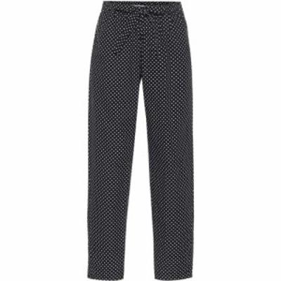 アンダーカバー Undercover レディース ボトムス・パンツ Dotted cotton pants Black Base