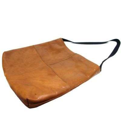SUNSEA 「FLEA MARKET BAG」 レザーショルダーバッグ ブラウン サイズ:- (新宿店) 210215