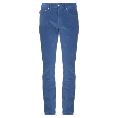 ラブ モスキーノ LOVE MOSCHINO パンツ ブルー 32 コットン 98% / ポリウレタン 2% パンツ