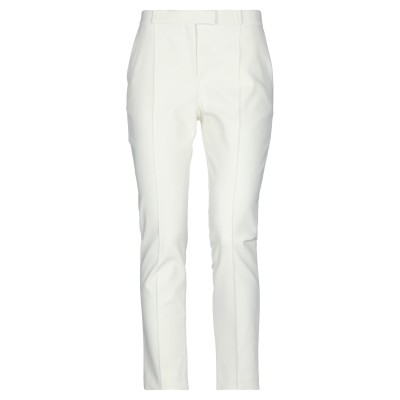 THE ROW パンツ ホワイト 12 コットン 52% / ナイロン 38% / ポリウレタン 10% / シルク パンツ