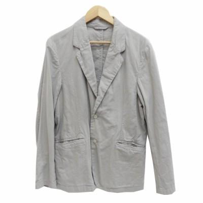 nest Robe CONFECT 2020SS ヘンプコットンテーラードジャケット グレー サイズ:3 (梅田クロス茶屋町店) 210329