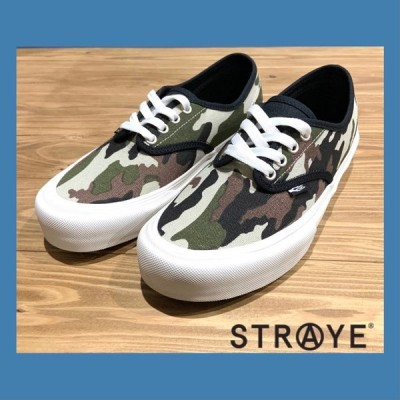 STRAYE footwear GOWER ストレイ スニーカー|CAMO BLACK
