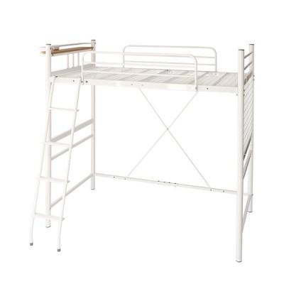 コンパクトロフトベッド ベッドフレームのみ シングル ショート丈 送料無料