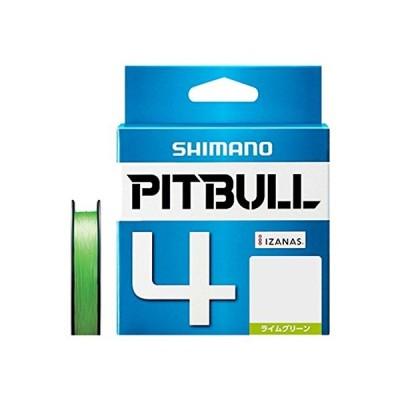 シマノ(SHIMANO) PEライン ピットブル 4本編み 200m 1.5号 ライムグリーン 31.7lb PL-M64R 釣り糸
