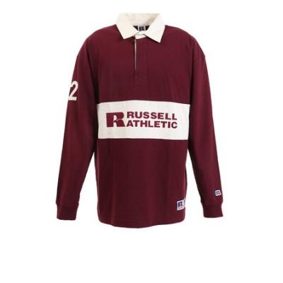 ラッセル(RUSSELL)PR RUGGER 長袖ポロシャツ RBM19F0003 WIN