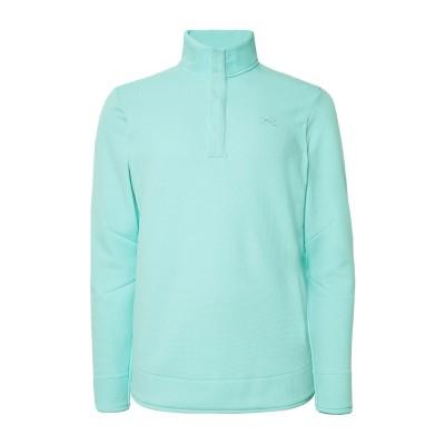 UNDER ARMOUR スウェットシャツ ターコイズブルー XXL ポリエステル 100% スウェットシャツ