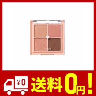 rom&nd BETTER THAN EYES Eyeshadow Palette 4色のアイシャドウパレット # 1 DRY mango tulip