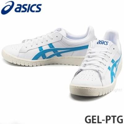 アシックス GEL-PTG カラー:WHITE/AIZURI BLUE