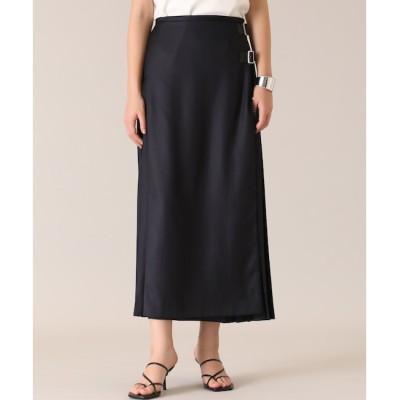 【スーペリアクローゼット/SUPERIOR CLOSET】 ラッププリーツスカート《ASAKO》