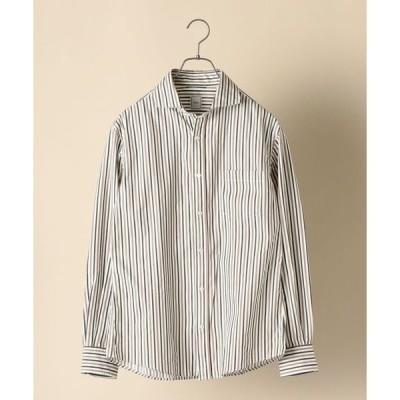シャツ ブラウス SC: ロンドンストライプ セミワイドカラー シャツ