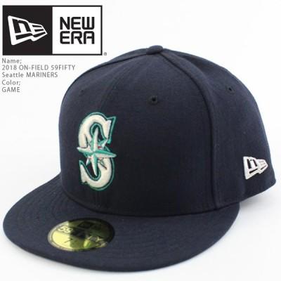 ニューエラ 帽子 キャップ NEWERA ON-FIELD 59FIFTY Seattle MARINERS GAME シアトルマリナーズ MLB メジャーリーグ ベースボール[ZRC]