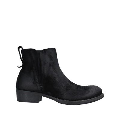 MOMINO ショートブーツ ブラック 35 革 ショートブーツ