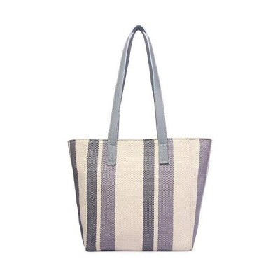 KOWENTIK Tote Bag Shoulder Bag Handbags For Women Canvas Tote Beach Travel Weekend Bag (Blue)【並行輸入品】