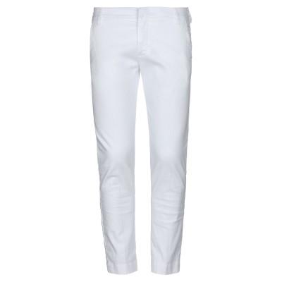 アントレ アミ ENTRE AMIS パンツ ホワイト 28 麻 66% / コットン 31% / ポリウレタン 3% パンツ