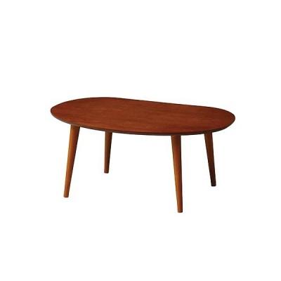 ティーナ ローテーブル 幅750 奥行500 高さ320mm ブラウン ナチュラル 弘益 KE-TINA-LT750