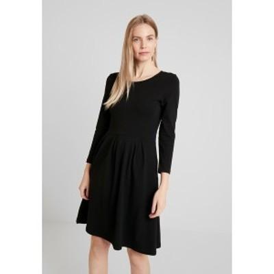 アンナフィールド レディース ワンピース トップス Jersey dress - black black