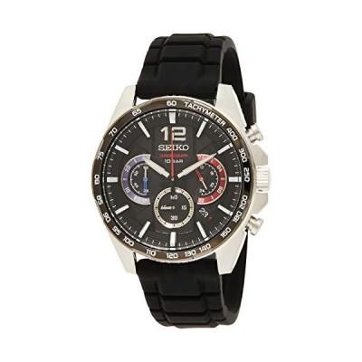 【並行輸入品】Seiko Quartz Watch SSB347P1 - Rubber Gents Quartz Chronograph