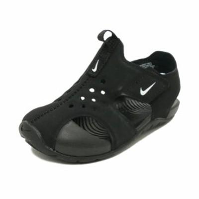 スニーカー ナイキ NIKE サンレイプロテクト2TD ブラック/ホワイト キッズ シューズ 靴