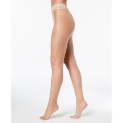 カルバンクライン レディース パンツ アンダーウェア Women's Infinite Sheer Control-Top Pantyhose Sheers Buff
