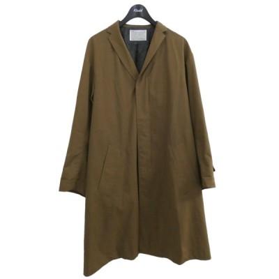 kolor 切替ドッキングコート ブラウン×グリーン サイズ:2 (原宿店) 210616