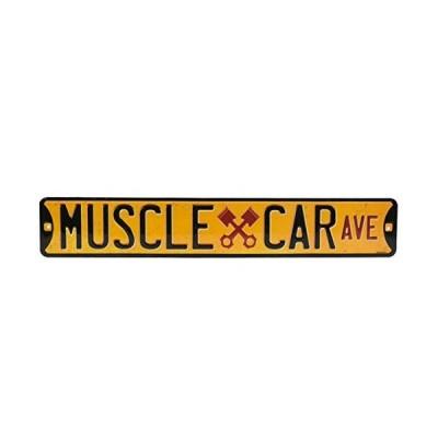 Open RoadブランドMuscle Car Avenue Tin Sign 90146346?