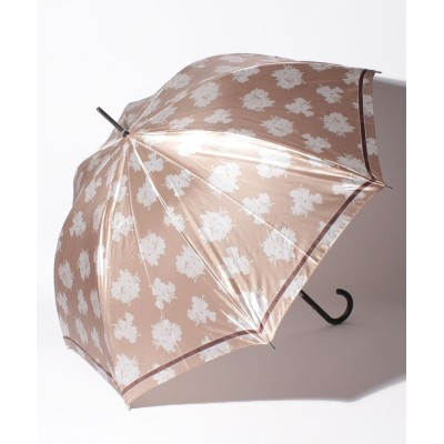 (LANVIN Collection(umbrella)/ランバンコレクション)LANVIN COLLECTION(ランバンコレクション)婦人雨傘 耐風/レディース ベージュ