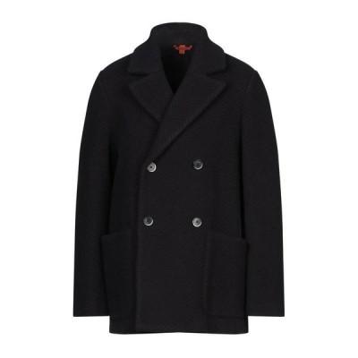 BARENA コート  メンズファッション  コート、アウター  その他コート ダークブルー
