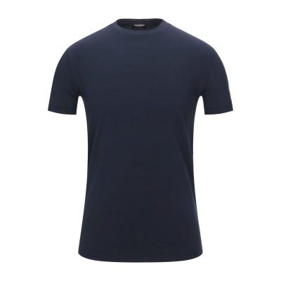 ディースクエアード DSQUARED2 T シャツ ダークブルー XL コットン 95% / ポリウレタン 5% T シャツ